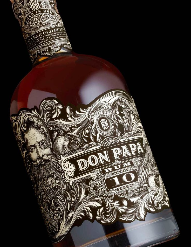 Don Papa is a premium small batch rum from the isle of Negros Occidental,  the Philippines.Stranger & Strangerrecently designed the packaging for  Don Papa's 10 year edition, which features the brand's namesake among local  flora and fauna as it undulates around, wrapping the bottle.