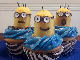 Despicable Me Cupcakes For Nora