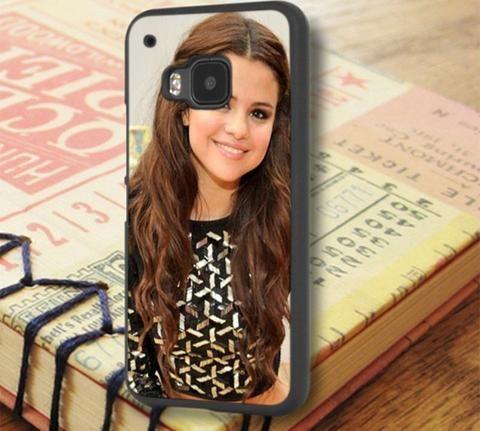 Selena Gomez Beautiful Smile HTC One M9 Case