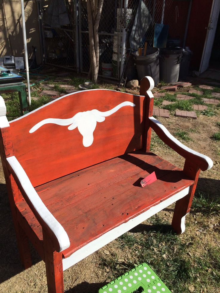1000 Images About Longhorn Themed Bench And Furniture On