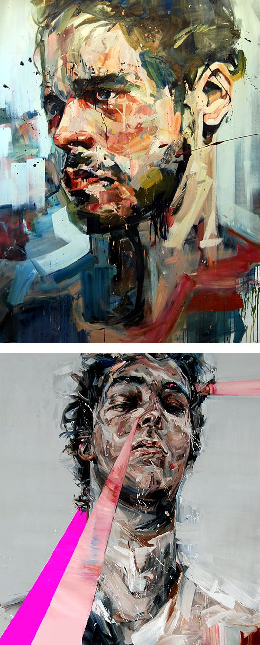 Powerful Paintings by Andrew Salgado | Inspiration Grid | Design Inspiration