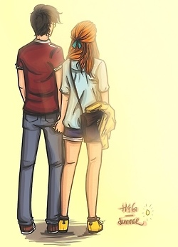 Harry & Ginny they are so cute!!