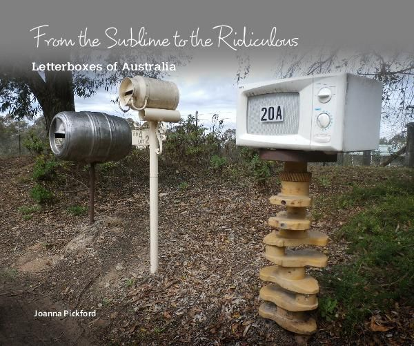 This is a coffee table book about the quirky things people use or do to their letterboxes literally from the sublime to the ridiculous. Its a book about Australian humour.