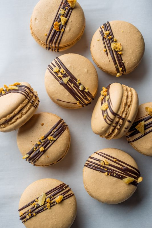 How to make Crunchie Macarons - Graham Hornigold