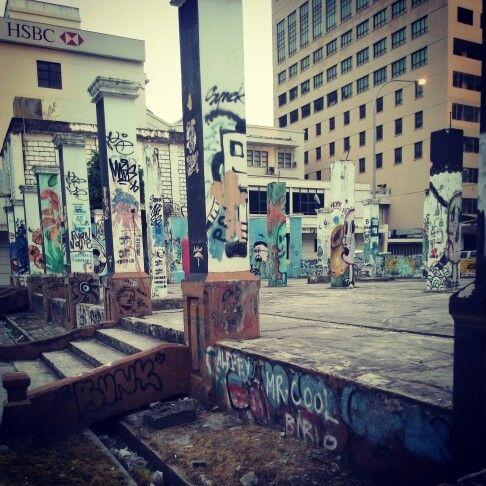 #grafiti #grafitti #bubar #arts #streetart , #sabah #malaysia #ilovebeach #solotraveler #travel #beachgirl #beach