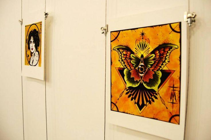 1/11/2014 - inaugurazione spazio galleria Parione9 Limited edition prints di Federica Madonna