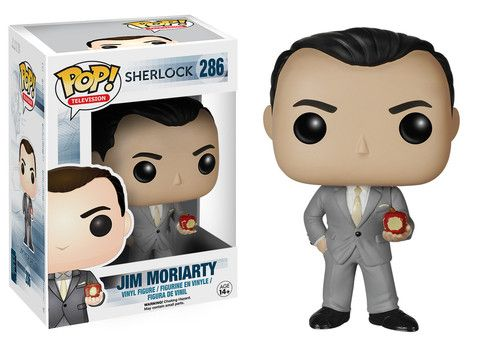 Pop! TV: Sherlock - Jim Moriarty | Funko