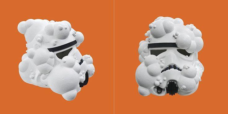 Jake and Dinos Chapman Art Wars Stormtrooper, 2013