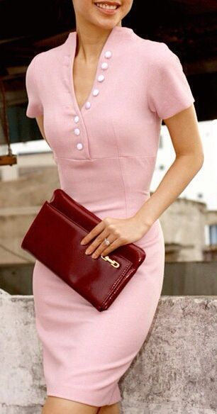 Don't like the clutch, but the dress is to die for