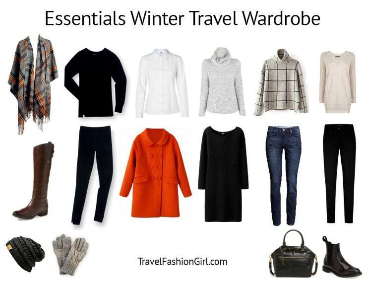 Pack light with Travel Fashion Girl's 10 Piece Travel Essentials Packing List and get a free packing e-book to Create Your Perfect Travel Wardrobe!