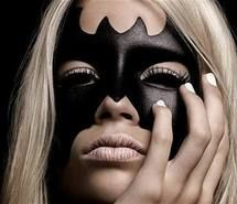 Inspiring picture batman, girl, make up. Resolution: 500x366. Find the picture to your taste!
