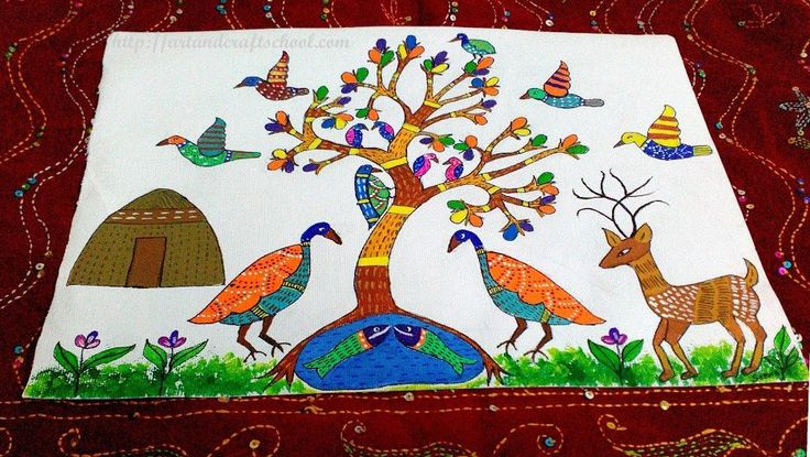 #Gond #painting design