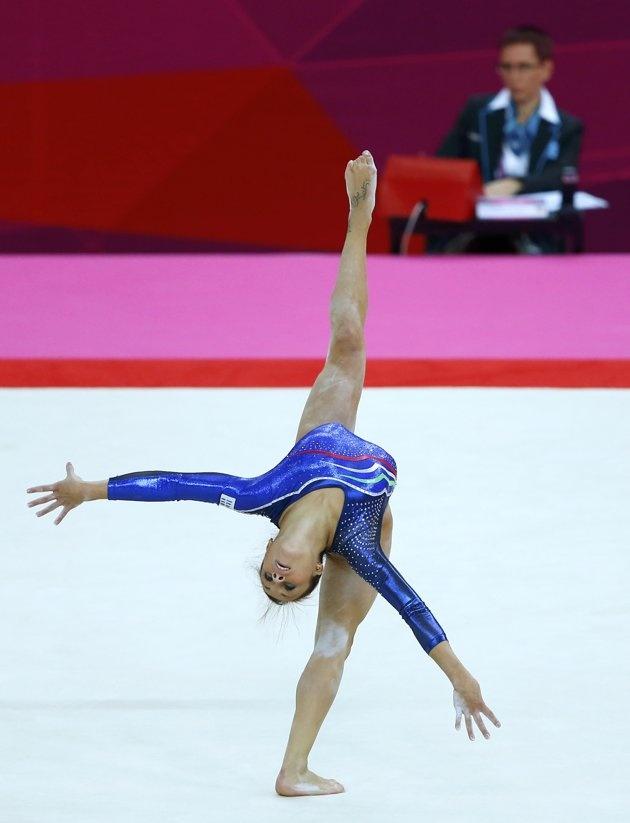 Women's qualification - Vanessa Ferrari (ITA) #London2012 #gymnastics