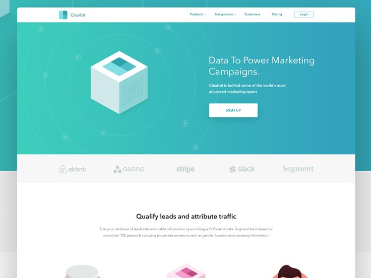 Marketing Page Exercise by Eric Hoffman