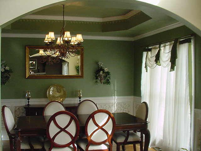79 best tray ceiling dining room images on pinterest for Dining room ceiling paint ideas