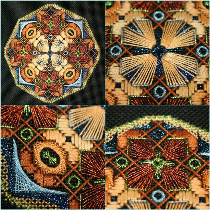 Embroidery geometry