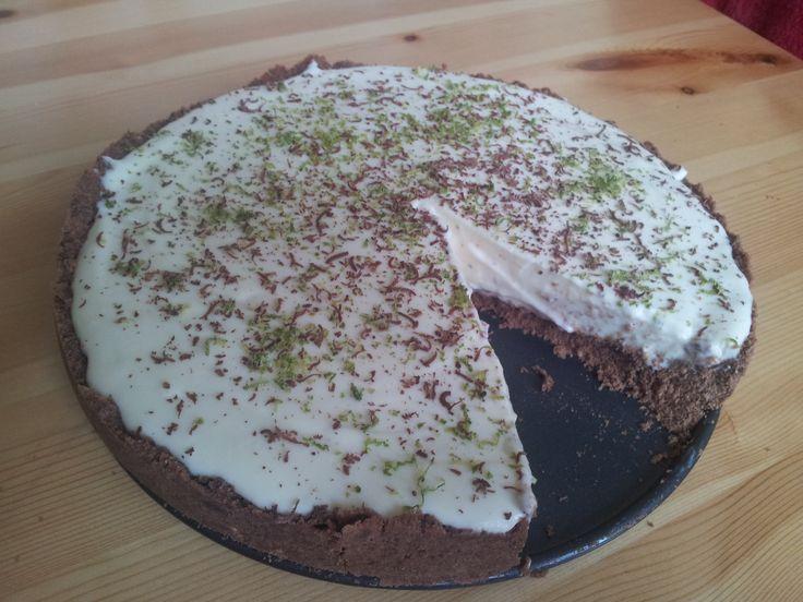 limetkový koláč podle Nigelly Lawson