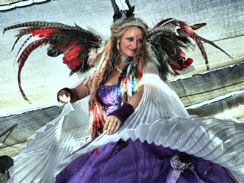 Steve's Burning Man Images - 2011 - Fashion Shows and Beauty Pageants