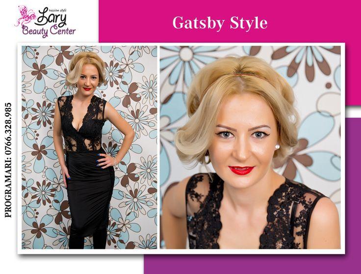 gatsby style  http://www.larybeautycenter.ro/