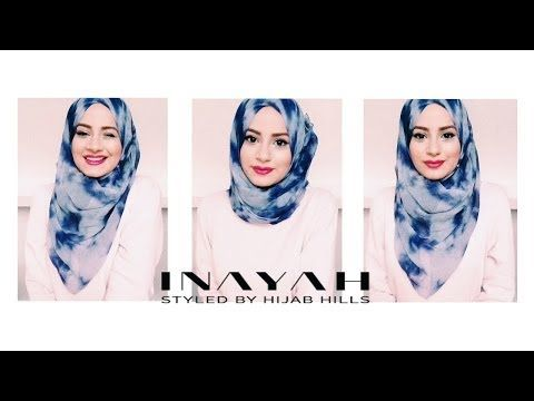▶ How To Style Your INAYAH Scarf | Hijab Tutorial #1 - YouTube