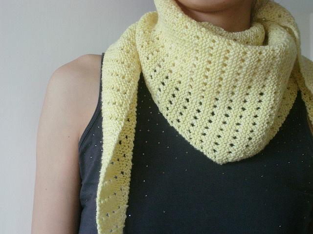 101 besten Knitted baktus, bandana and asymmetrical scarves Bilder ...