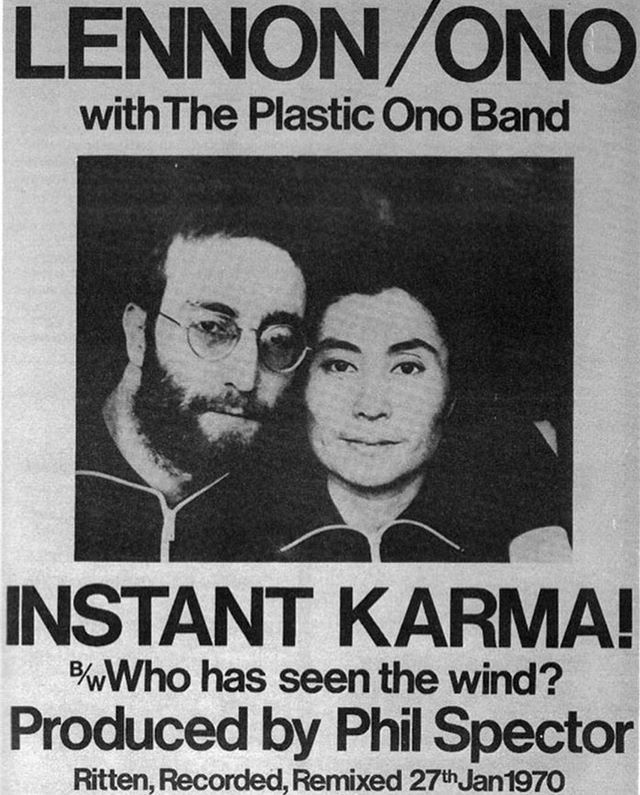 Tuesday Travelman Cofveve Onthisday Rrindex Tuesdaytunes Totp Vlog Idagio Qobuz Tidal Spotify Apstyl In 2020 Instant Karma Plastic Ono Band Beatles Band