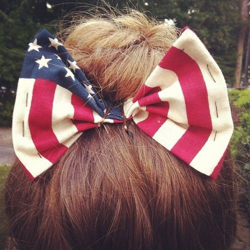 All- American BowAmerican Dreamer, American Flags, Bows 3, American Bows, America Bows, Flags Hair, Hair Bows, Hair Stuff, Big Bows