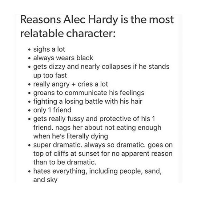 Accurate #broadchurch<<< I have not idea wot this character is from but someone plz let me know coz i do everything on this list!