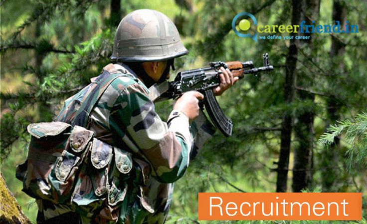 Indian Army Recruitment 2016 Havildar vacancy (Last Date of Application for Indian Army vacancies is 10-06-2016)