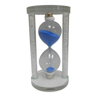 Creative Motion Sand Timer Hourglass Color: Blue