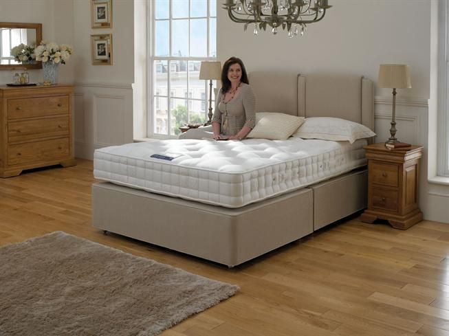 Super King Size 2+2 Drawer Divan Set