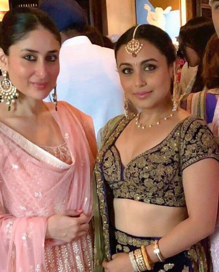 Kareena Kapoor Rani Mukherjee Kareena Kapoor Saree Sonam Kapoor Wedding Bollywood Celebrities