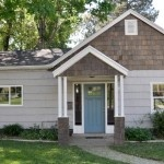 Home Tour:  Lindsay and Drew's Flip House - totally love the cedar shake shingles rather than the more used siding