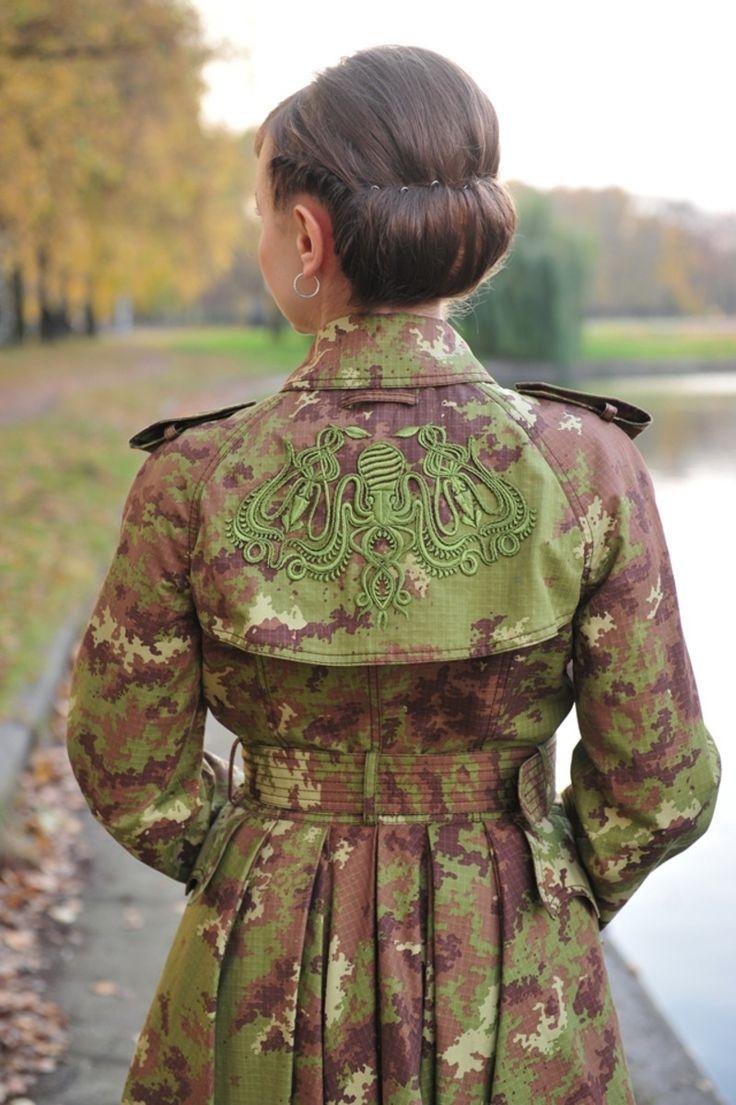 Солдат Джейн: пальто в стиле милитари.. Татьяна Безгодова - bonnieblog.AmazEm.ru