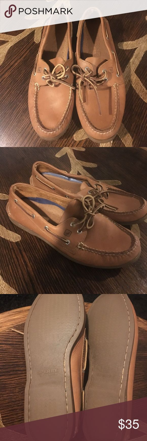 Sperry Top Sider Men's Sperry Leather shoes. Classy dress shoes. Bought them for an event. Only worn them once! Like new! Great price. Sperry Shoes Loafers & Slip-Ons