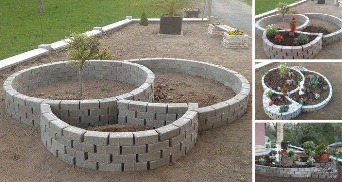 Die perfekte Inspiration für einen Mini-Garten vor dem Haus für nur 50 € | CooleTipps.de