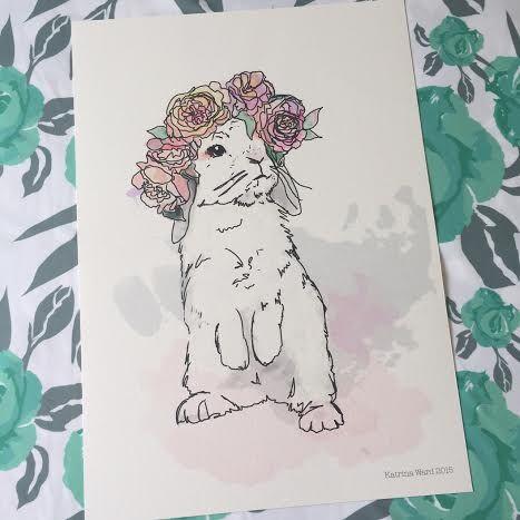 A3 Little Flossy Art Print