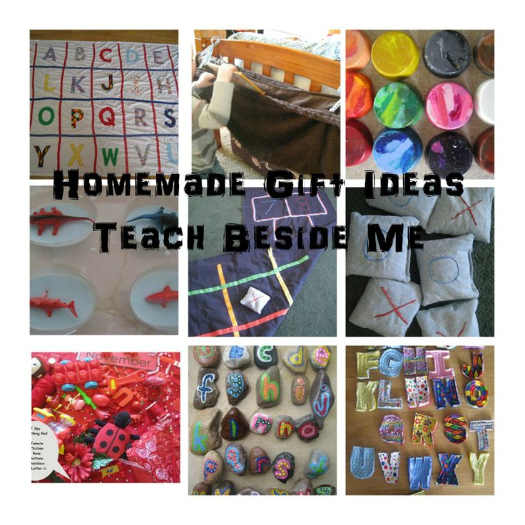 Teach Beside Me: Preparing for the Holidays~ Homemade Gift Ideas