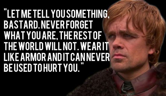 tyrion lannister quote