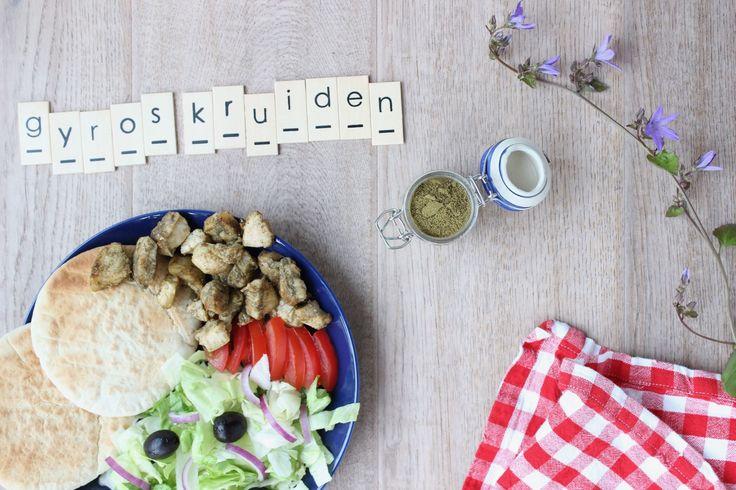 Dit Griekse Recept voor Gyros kruiden geeft je thuis een vakantiegevoel! Je vindt de Gyros kruidenmix op eethetbeter.nl: het kidsfoodblog van NL!