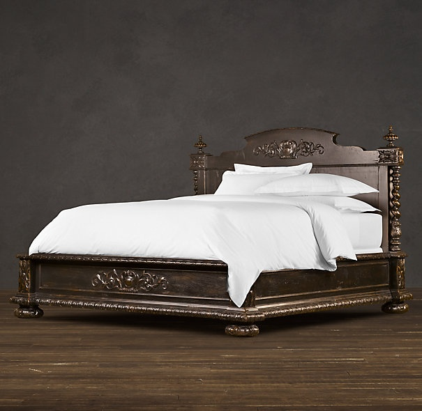 totally want: Restoration Hardware, New Houses, French Empire, Empire Beds, Beds Antiques, Bedrooms Suits, Master Bedrooms, Antiques Black, New Bedrooms