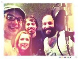 O'Shea | Fun in the studio with Morgan Evans & David Axelrod!