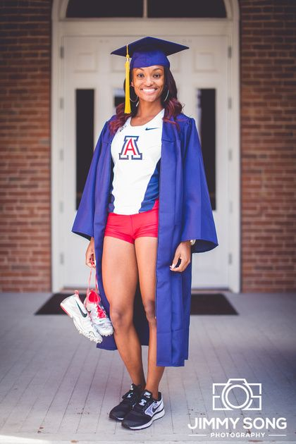 University of Arizona Senior Grad Graduation Portraits Winter Fall Session Tucson Arizona Portrait Ideas Cap Gown Dress