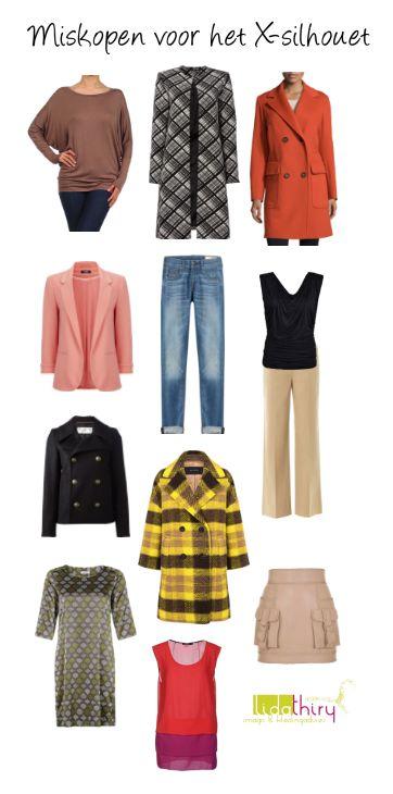 Laat deze kleding hangen, X-silhouet! Bezoek dit blog voor de tips. #miskopen #BadBuys #Xsilhouet #zandloper #kledingtip
