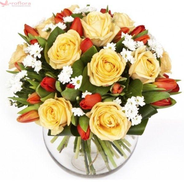 delicate-smile-buchet-trandafiri-lalele_1.jpg (600×600)