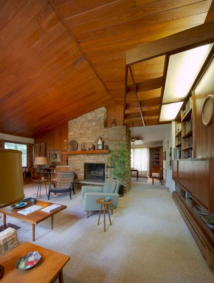 47 Attractive Mid Century Living Rooms Design Ideas