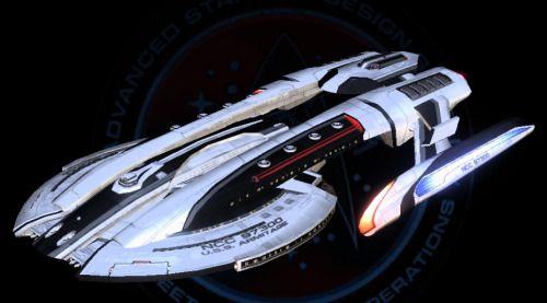 Starfleet ships • Armitage-class, souped-up Akira from Star Trek:...