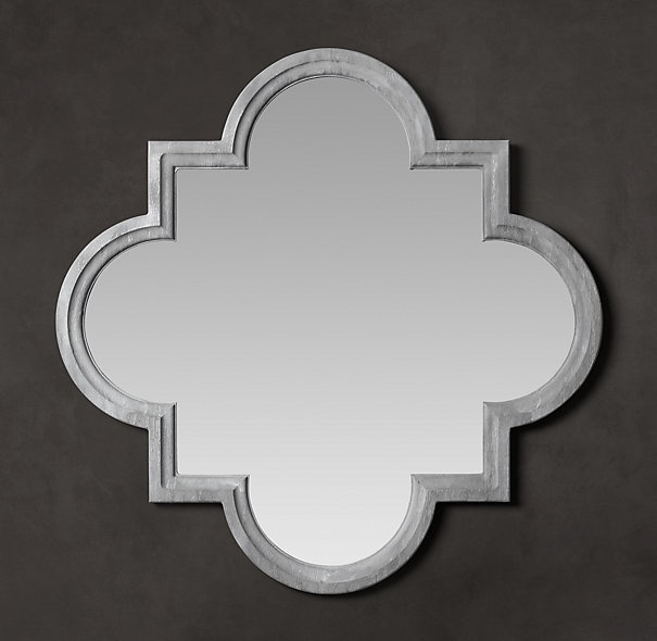 Love This Quatrefoil Mirror From Restoration Hardware Too