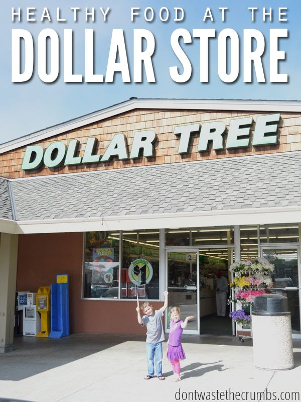 Is it possible to buy healthy food at the dollar store? Absolutely! See what foods are common & tips to ensure the food you're buying is really healthy!