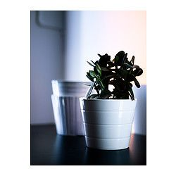 KARDEMUMMA Cache-pot, blanc, motifs divers - blanc/motifs divers - 10.5 cm - IKEA